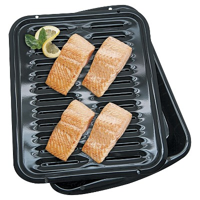 Range Kleen Broiler Pan - Black