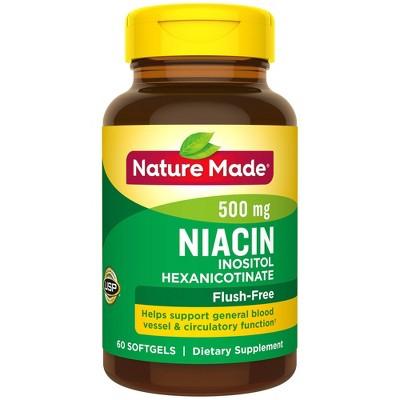Vitamins & Supplements: Nature Made Niacin