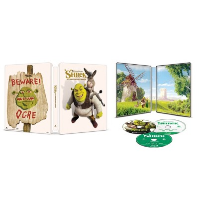 Shrek: 20th Anniversary Edition (SteelBook) (4K/UHD + Blu-ray + Digital)
