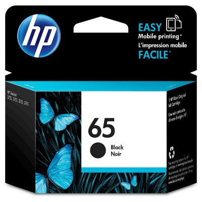 HP 65 Single Ink Cartridge - Black (N9K02AN#14)