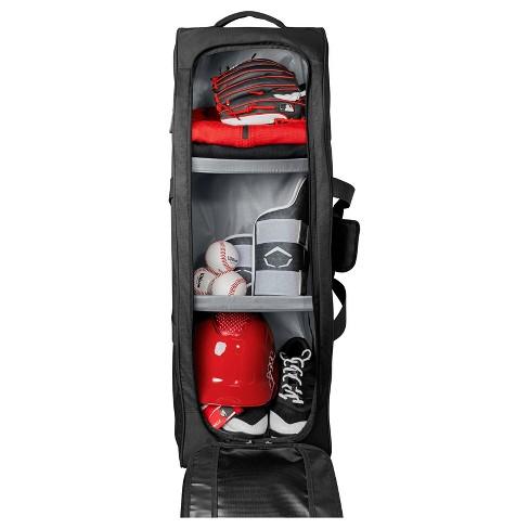 Louisville Slugger Omaha Rig Baseball Softball Wheel Bag All