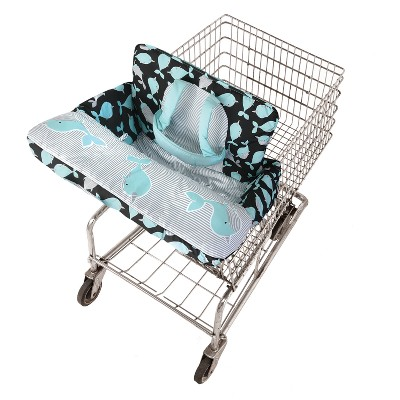 GO By Goldbug Shopping Cart And High Chair Cover Narwhals