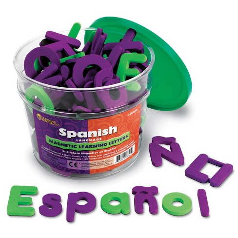 Learning Resources Spanish Magnetic Learning Letters - image 1 of 2