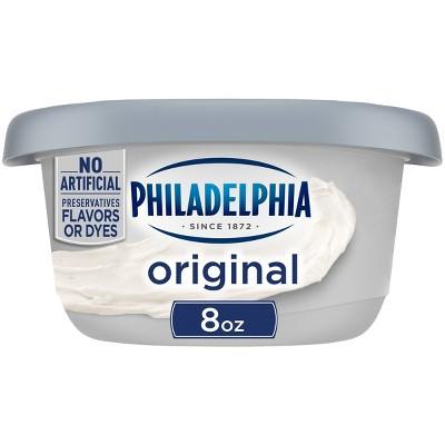 Philadelphia Regular Cream Cheese Tub - 8oz