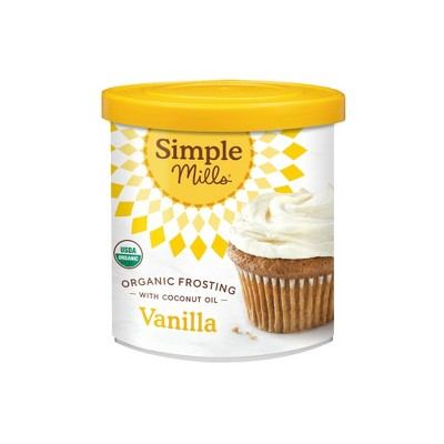 Frosting & Decorations: Simple Mills Vanilla Frosting