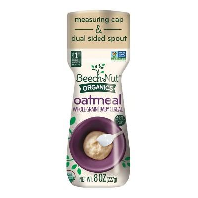 Baby Food: Beech-Nut Organic Baby Cereal