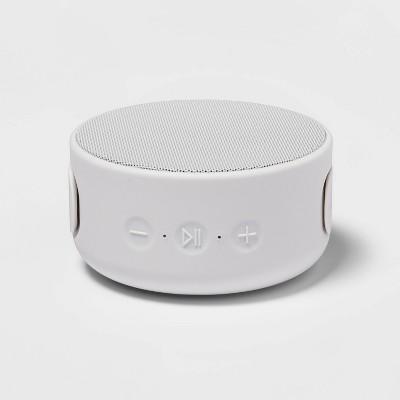 heyday™ Round Strap Bluetooth Speaker - Gray