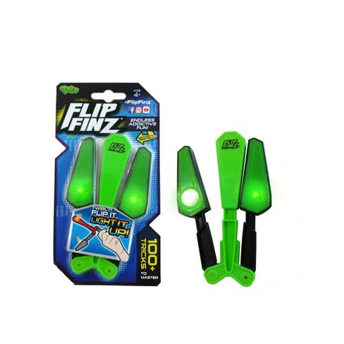 Flip Finz Skill Game Toy - Green - image 1 of 1