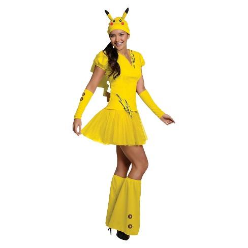 Women's Pokmon Pikachu Costume - image 1 of 1
