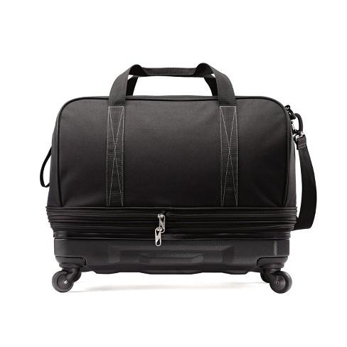 c0276322ed American Tourister Hybrid Wheeled Extender Duffel Bag - Black. Shop all American  Tourister