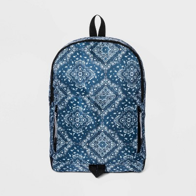 Men's Bandana Backpack - Original Use™ Blue
