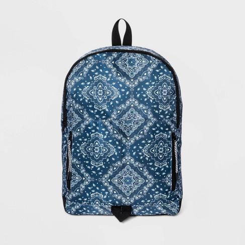 Men's Bandana Backpack - Original Use™ Blue - image 1 of 3