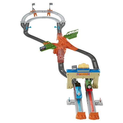 Fisher-Price Thomas & Friends TrackMaster Thomas & Percy's Railway Race Set - image 1 of 8