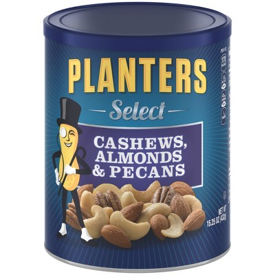Nuts & Seeds: Planters Select Cashews, Almonds & Pecans