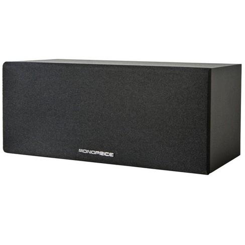 Monoprice Premium Home Theater Center Channel Speaker, Black - image 1 of 3