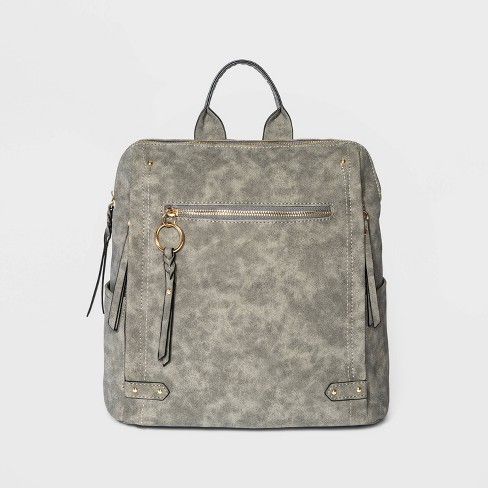 VR NYC O-Ring Multi Zip Backpack - image 1 of 4