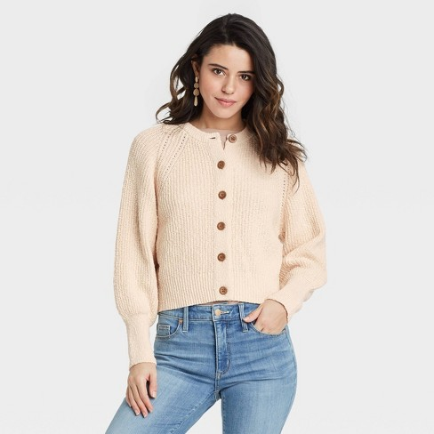 Women's Button-Down Cardigan - Universal Thread™ - image 1 of 3