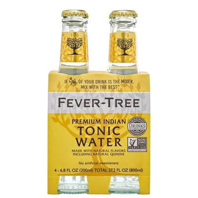 Fever-Tree Premium Indian Tonic Water - 4pk/200ml Bottles