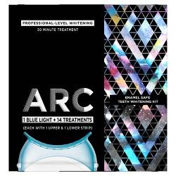 ARC Blue Light Teeth Whitening Kit, 1 Blue Light + 14 Treatments