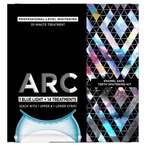 ARC Blue Light Teeth Whitening Kit, 1 Blue Light + 14 Treatments - image 1 of 4