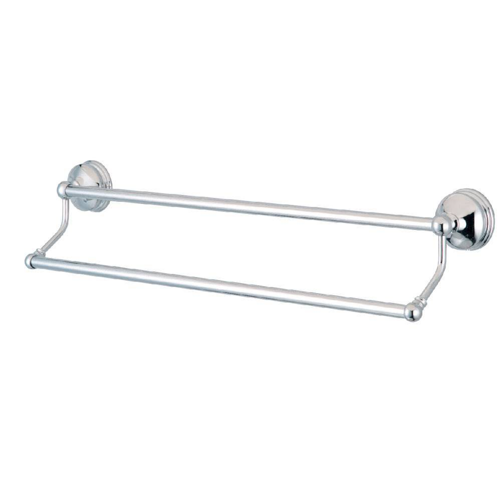 "Image of ""24"""" Dual Towel Bar Chrome - Kingston Brass"""