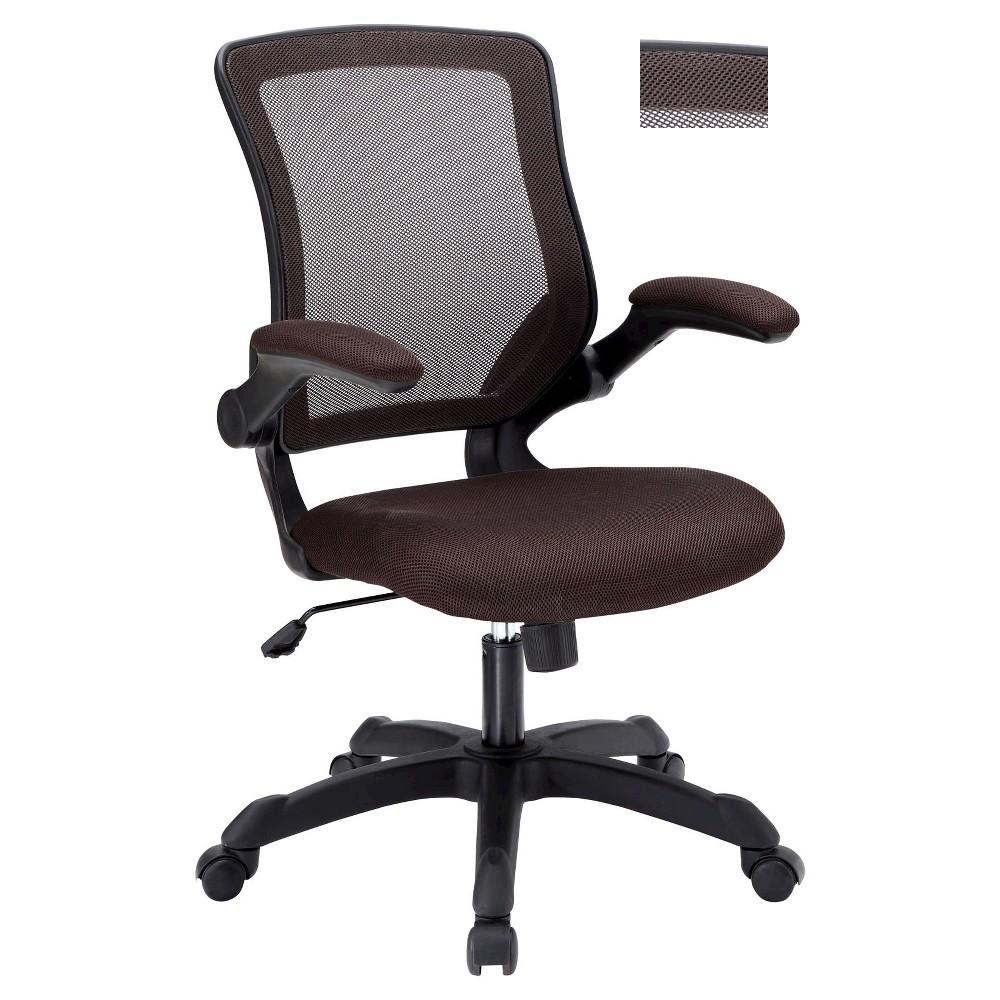 Office Chair Modway Dark Brown