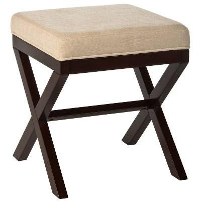 Morgan Accent Stool Espresso - Hillsdale Furniture