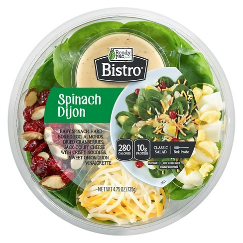 Ready Pac Bistro Spinach Dijon Salad Bowl - 4.75oz - image 1 of 1