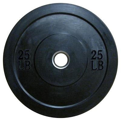 Lifeline Olympic Rubber Bumper Plate 25lbs