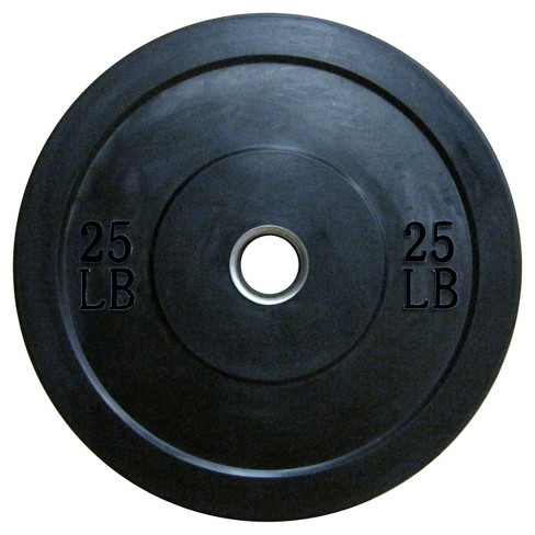 Lifeline® Olympic Rubber Bumper Plate - 25lbs - image 1 of 1