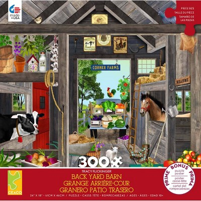 Ceaco Tracy Flickinger: Country Kitchen Jigsaw Puzzle - 300pc
