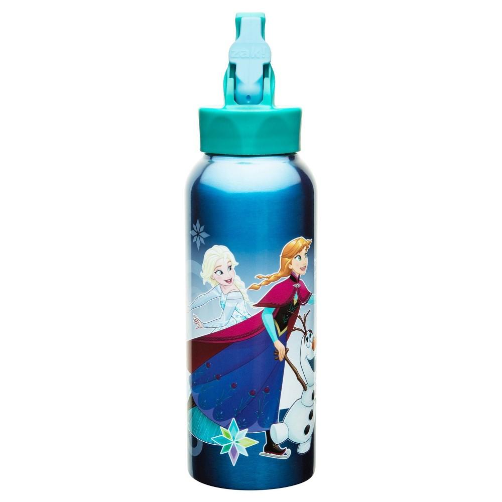 Disney Frozen 25oz Stainless Steel Kids' Water Bottle with Straw Lid - Blue