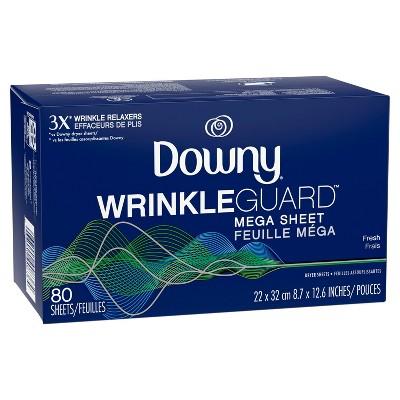 Dryer Sheets: Downy WrinkleGuard