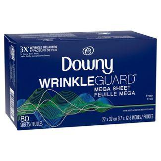 Downy WrinkleGuard Dryer Sheets - Fresh - 80ct