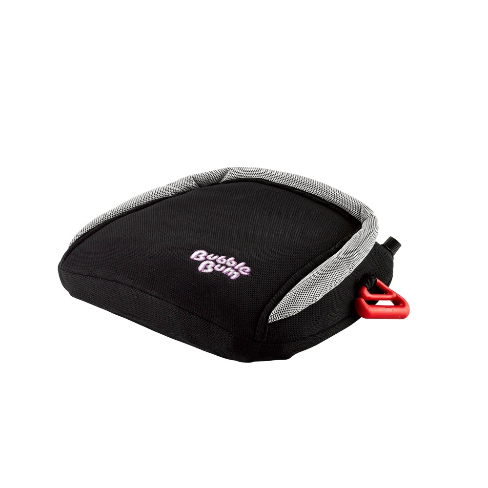 Image of BubbleBum Backless Booster Car Seat - Black