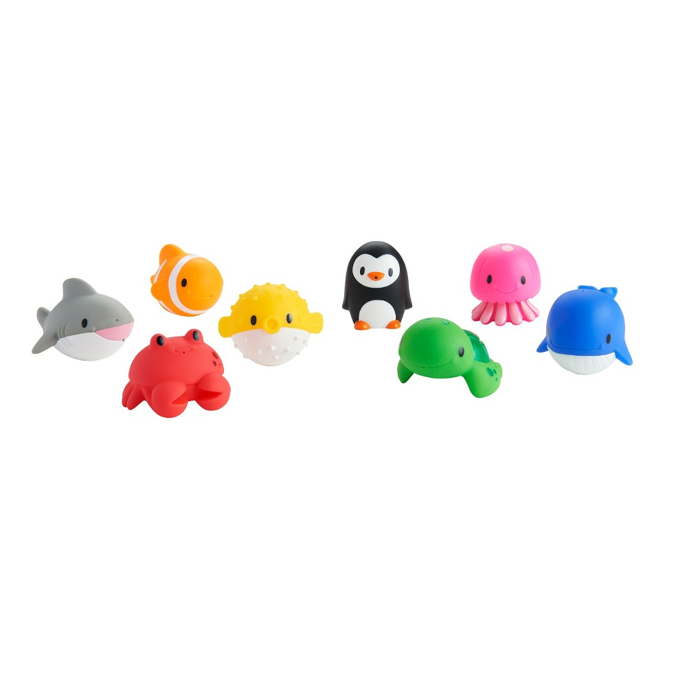 Munchkin Squirtin' Sea Buddies - 8pk, Multi-Colored