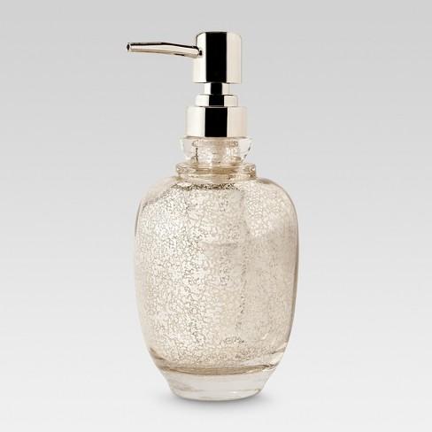 Mercury Glass Tall Soap Pump Threshold Target