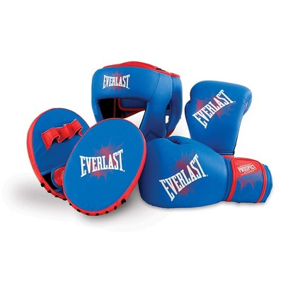 Everlast Prospect Youth Training Kit with Gloves, Headgear, and Mitts