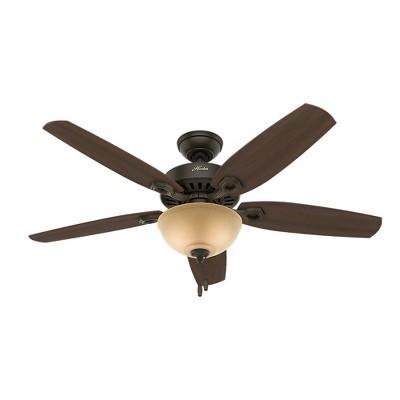 "52"" LED Deluxe Builder Ceiling Fan (Includes Light Bulb) - Hunter"