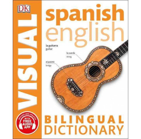 Spanish English Bilingual Visual Dictionary -  (Paperback) - image 1 of 1
