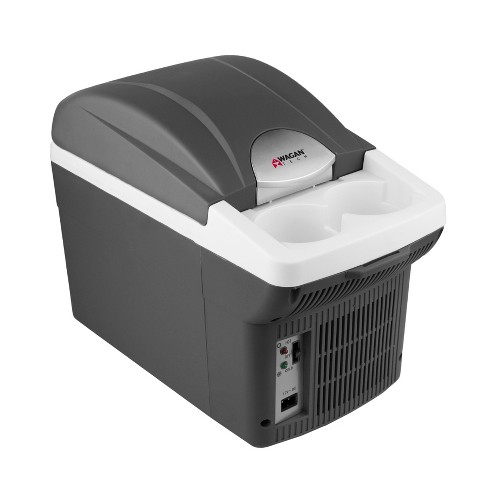 6qt Thermo-Fridge/Warmer Black/Gray - Wagan - image 1 of 13