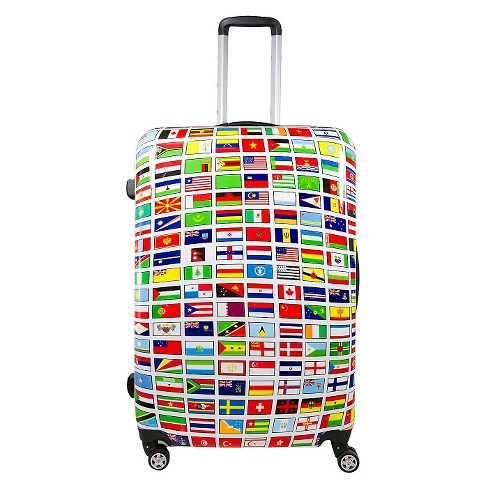 "FUL Flags Hardside  Spinner Suitcase (24"") - image 1 of 7"