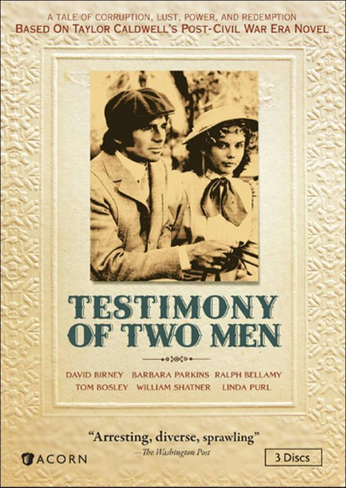 Testimony of two men (DVD) - image 1 of 1