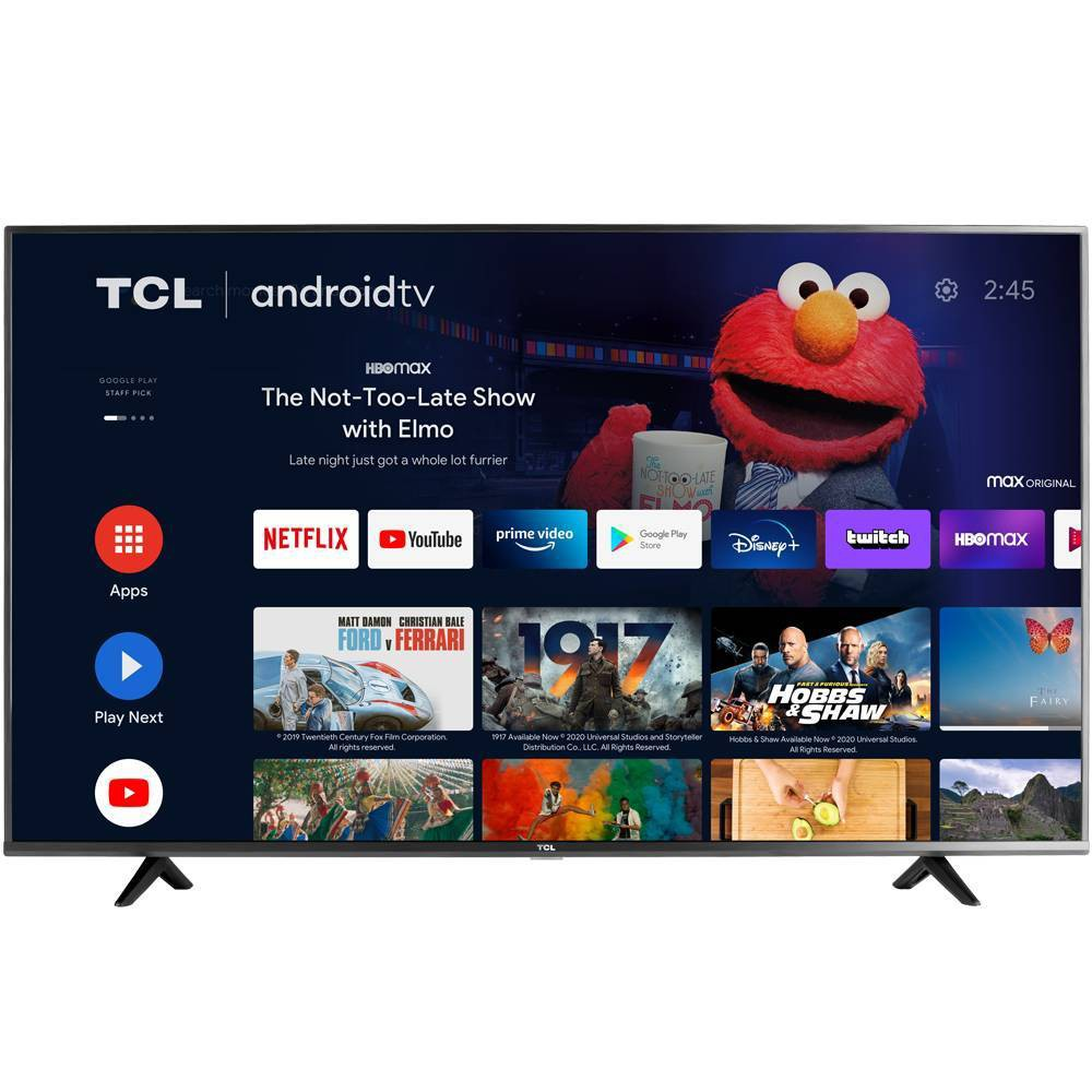 "TCL 43"" 4K HDR UHD Android Smart TV"