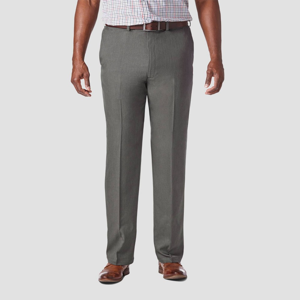 Coupons Haggar Men's Big & Tall Cool 18 PRO Classic Fit Flat Front Casual Pants -
