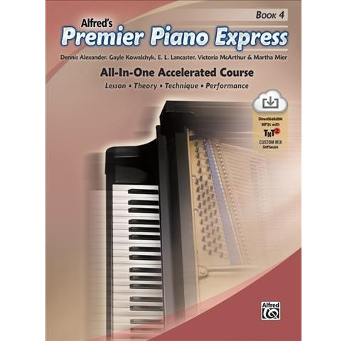 Alfred's Premier Piano Express : All-in-one Accelerated Course, Lesson, Theory, Technique, Performance - image 1 of 1