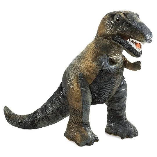 Folkmanis Tyrannosaurus Rex Hand Puppet image number null