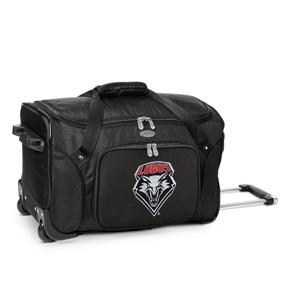 Ncaa New Mexico Lobos 22 Rolling Duffel Bag
