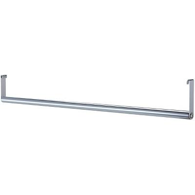 "Lorell Garment Hanger Bar f/ Industrial Shelving 36"" Chrome 69877"