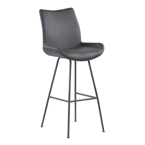 Outstanding 30 Armen Living Coronado Contemporary Bar Height Barstool Gray Gmtry Best Dining Table And Chair Ideas Images Gmtryco